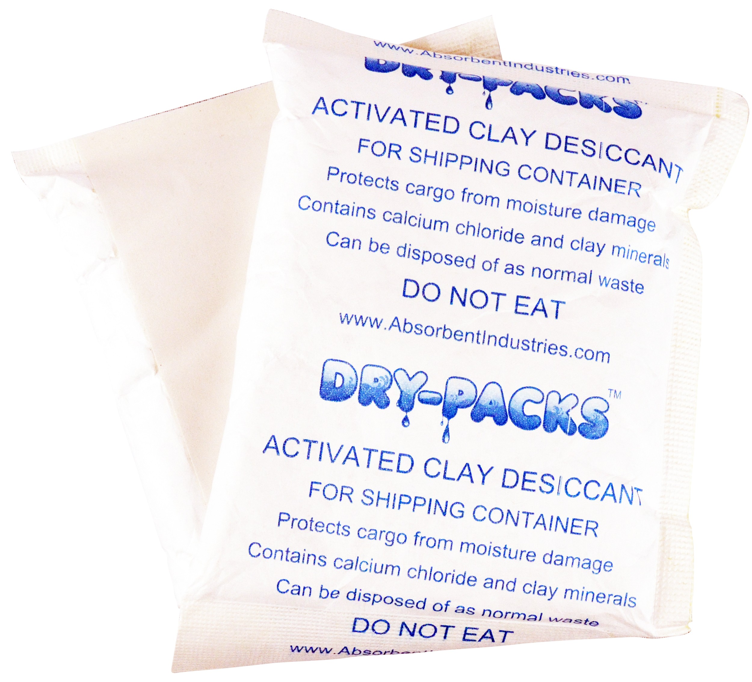 300 Gram Desiccant Packet With Adhesive Backing