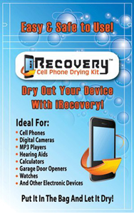 iRecovery Cell Phone Drying Kit