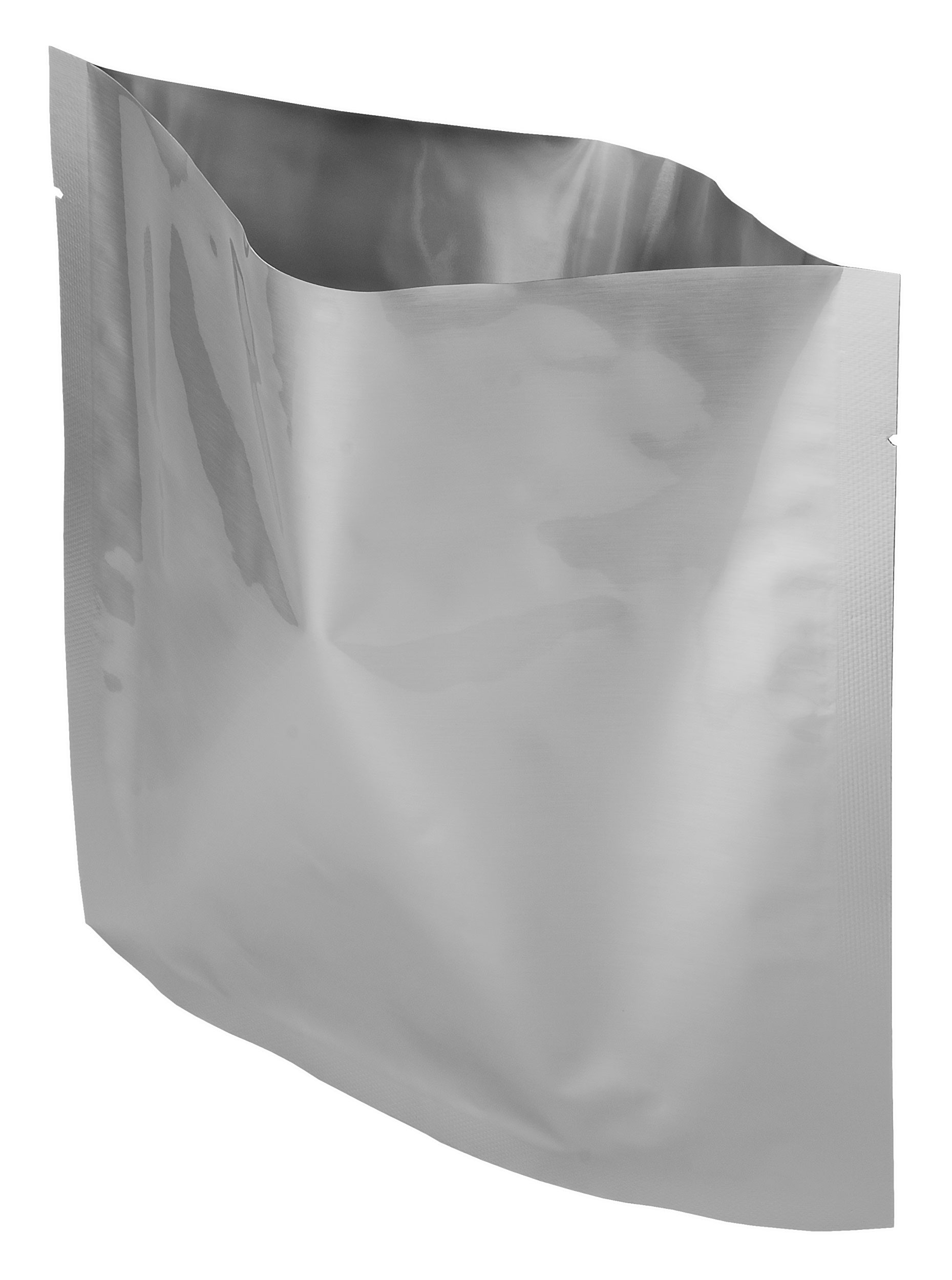 "100 Pack Of Mylar 8x8"" Quart Size Bags"